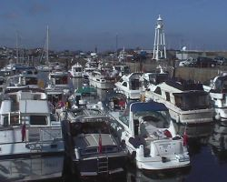 The MBM fleet in St Peter Port