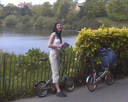 A bike ride in Jersey