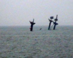 The wreck of the Montgomery