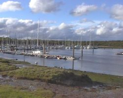 Boats in the Beaulieu river