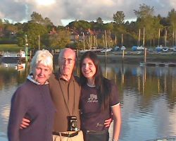 Lou and family at Beaulieu