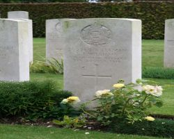 Late victims of the great war rest at Pont-Remy