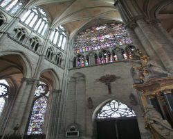 Amiens cathedral is a sanctuary on a wet day