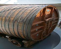 Mercier's giant champagne cask