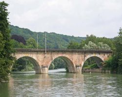 Quiet cruising in the attractive Marne valley