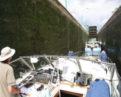 Deep locks on the Canal du Nord