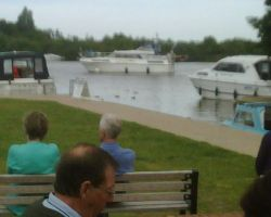 Lady Martina Back At Horning