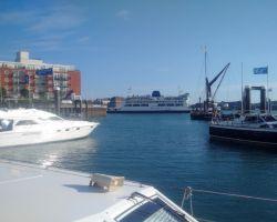 1-Portsmouth Channel Views From GunWharf Quays Marina