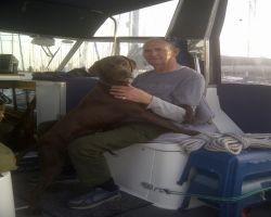 Me And Max On Lady Martina