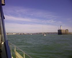 Bit Lumpy Entering Boulogne