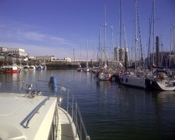 Boulogne Marina Crowded