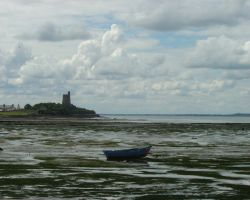 The mud flats of St Vaast and the Fort of La Hougue