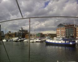 Leaving Ipswich Dock