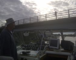 Guiding Lady Martina Under Acle Bridge