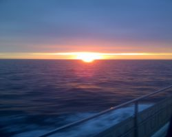 2- Sunrise En Route From Port En Bessin To Caen