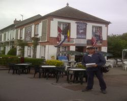 3-Breakfast at the Famous Cafe Gondree at Pegasus Bridge