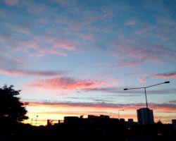 Sunset Over Ipswich