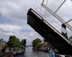 Ophaalbrug Ijlst open