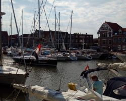 Hoorn can get very busy in fine weather and the summer months