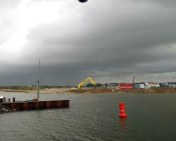 Harderwijk building site moorings given a miss!