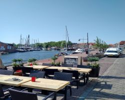 The Oude Haven at Enkhuizen