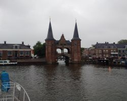 Approaching Sneek Waterport
