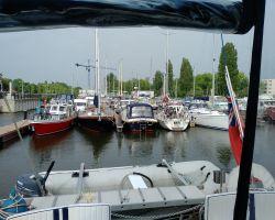 Lady Martina in Sixhaven marina