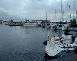 Lady Martina safely moored in Urk