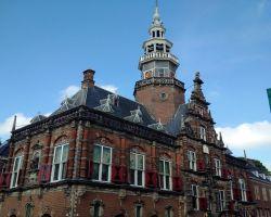 The magnificent Bolsward Town Hall
