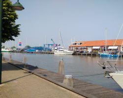 Lady Martina moored up at JH Waterland