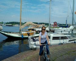 Kathleen at Spakenburg