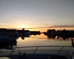 Glorious Sunset in Elburg Binnenhaven
