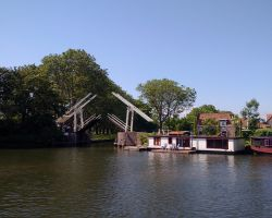 Ooster of Kettingbrug opening Haven