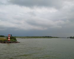 Makkum entrance from the IJsselmeer