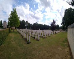 Ranville Cemetery the resting place for over 2000 Normandy campaign casualties