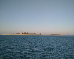 The Isle de Tatihou as seeen entering St Vaast la Hougue