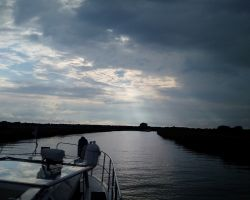 Lady Martina just past Stokesby on the River Bure