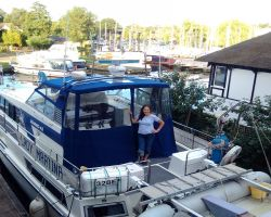 Kathleen and Lady Martina back home in Horning