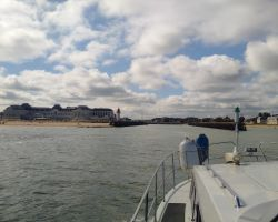 Entering Deauville
