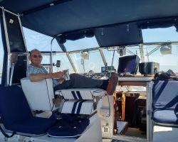 Me cruising across the Zwarte Meer