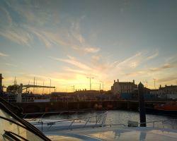 3-Sunset in Lowestoft