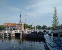 The Alkmaar arrival Bierkade as viewed from the Turfmarkt