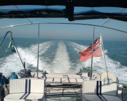 Achieving nearly 20kts in a sea trial after hull cleaning and antifouling