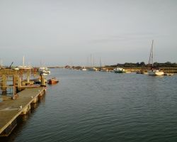 No further boats arrived at Southwold pontoon for two days
