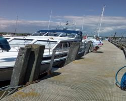 Kathleen at Southwold Harbour