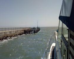 Approaching Southwold Piers